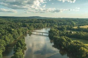 Virginia - Overview of the James River